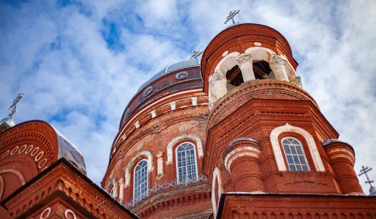 Свято-Троицком кафедральном соборе г. Уржума