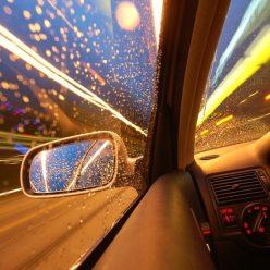 В какую погоду автомобиль едет лучше всего