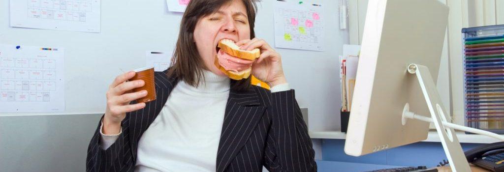 О правилах питания на работе