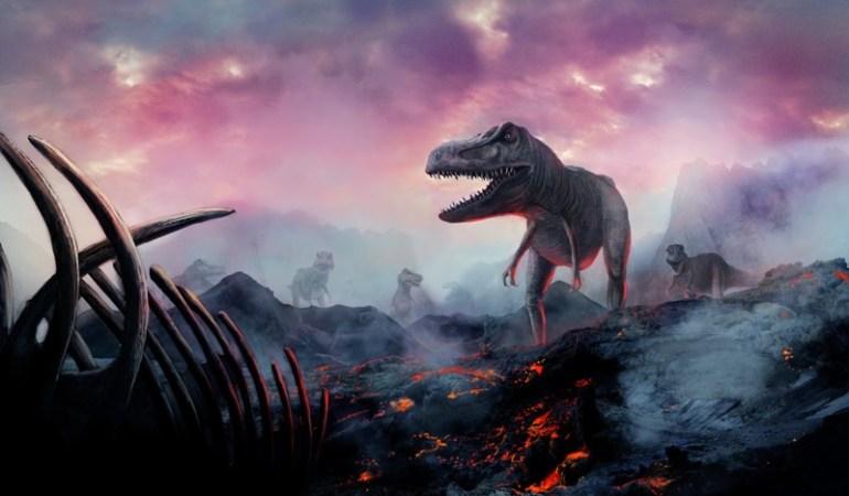 Воссоздан последний день эпохи динозавров