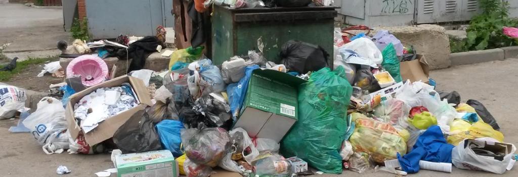 Кто отвечает за мусор рядом с контейнером