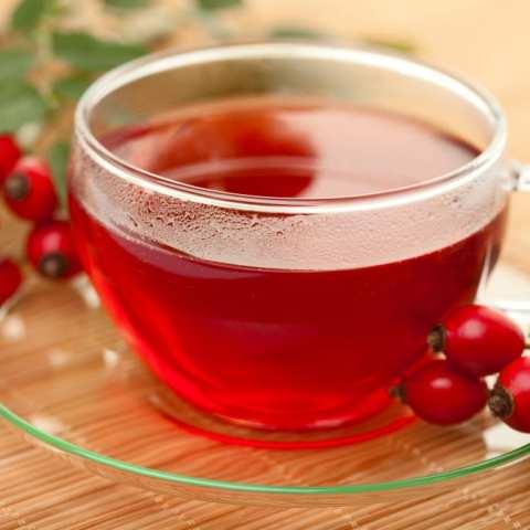 Рецепт чая из плодов рябины и шиповника