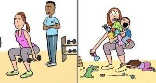 Bez detí a s deťmi: Nájdi rozdiel!