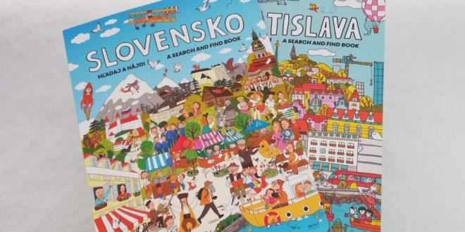 Knižný predvianočný tip: Hľadaj a nájdi BRATISLAVU a SLOVENSKO