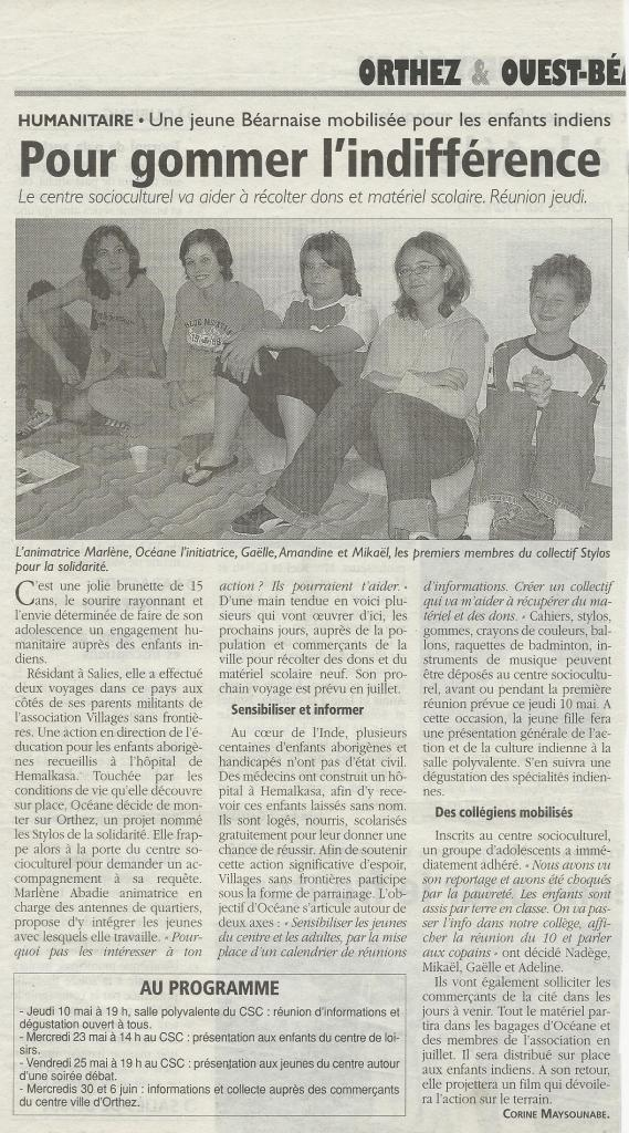 Sud Ouest 2007