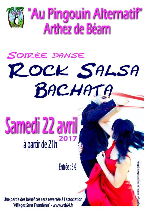 Soirée danse Rock Salsa 2017