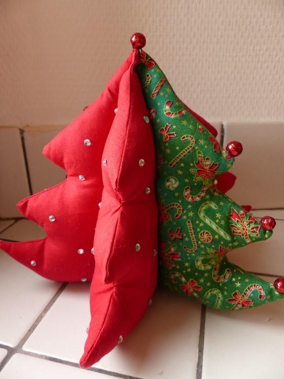 sapin de Noël en tissu