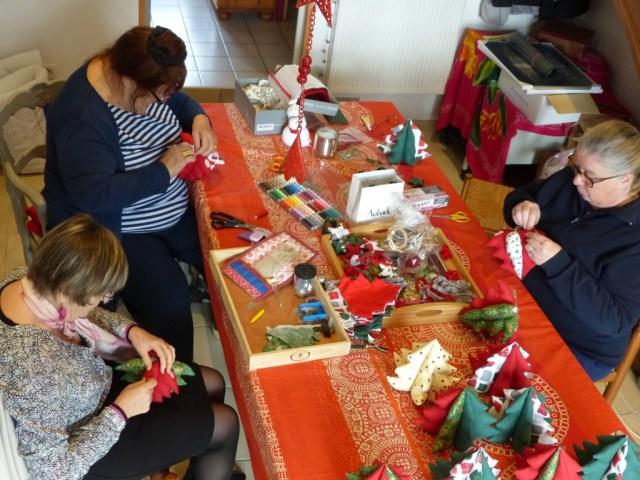 Atelier créatif Sapins de Noël