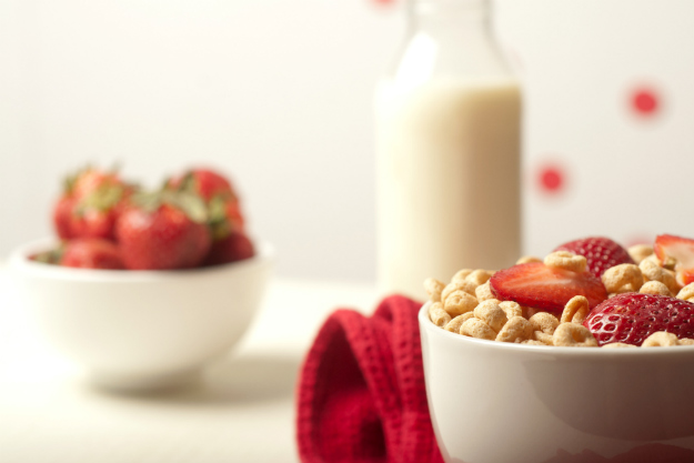 Cereal and Milk | What To Eat After A Workout | Food Options Post-Workout