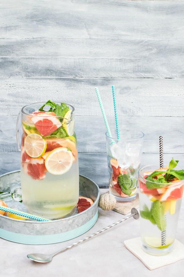Grapefruit Mint Detox Water | Best Detox Drinks For Weight Loss | detox diet