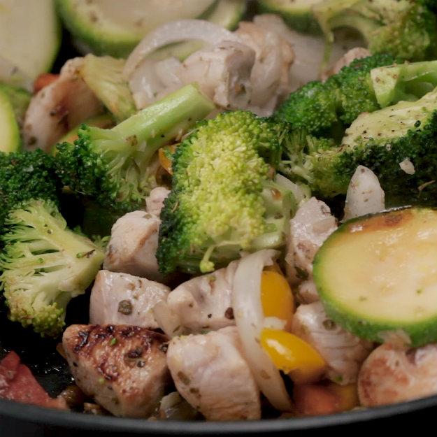 Serve and Enjoy! | Quick Chicken And Veggies Stir-Fry | Healthy chicken vegetable stir fry