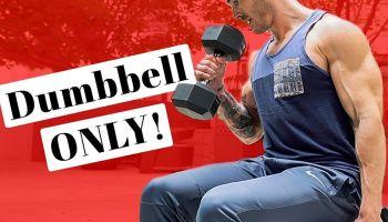 4 Bodybuilding Tricep Exercises With Dumbbells | V Shred