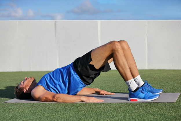 Glute Bridge | Hamstring Workouts To Strengthen Your Legs