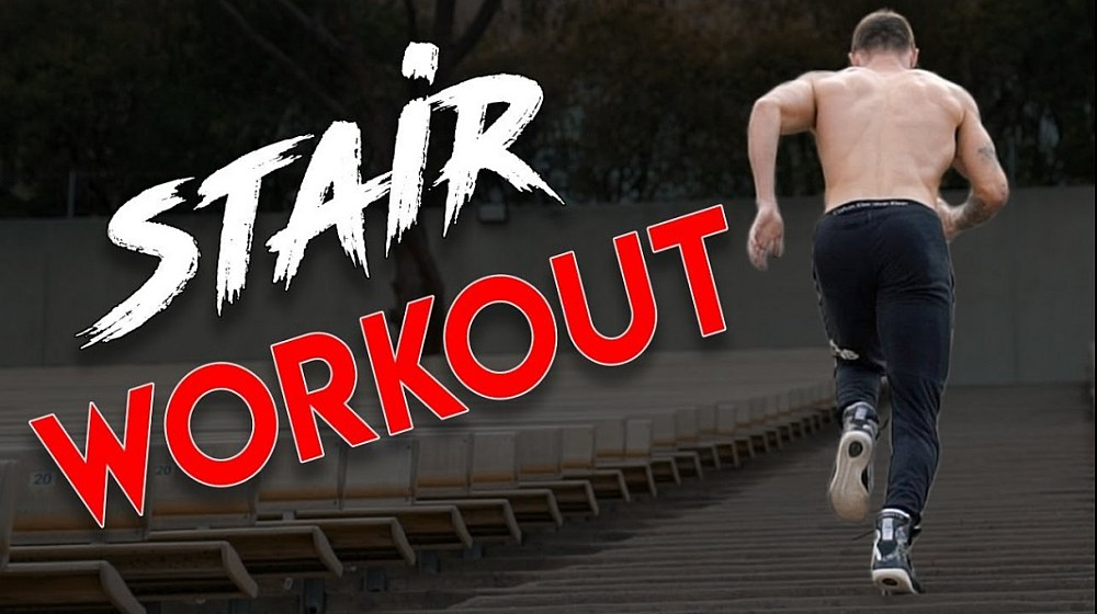 Feature | Stairs HIIT Workout for Beginners | 5 Stairclimber Exercises | Stairmaster workout for beginners