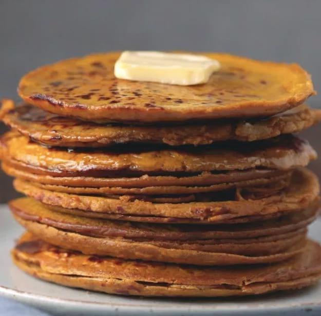 Delicious Pumpkin Pancake | Pumpkin Spice Protein Pancakes