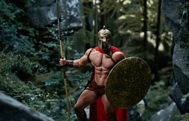 Spartan from 300 | Easy DIY Halloween Costumes That Show Off Your Body