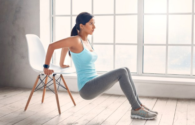 Strengthen Your Triceps With Chair Dips | Workout Plan To Burn Off Those Thanksgiving Calories (Thanksgiving Day Workout Plan)
