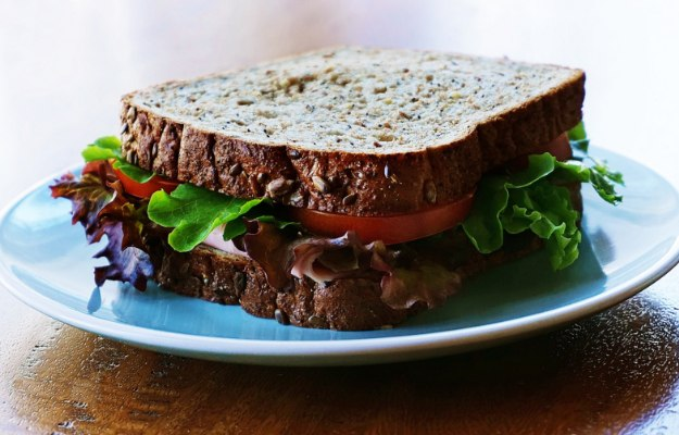 Chicken Sandwich on Whole-Grain Bread   What To Eat Before A Workout To Boost Muscle Pumping Energy