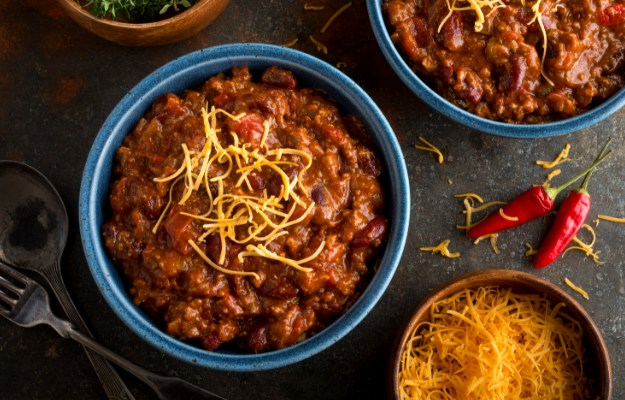 Top with Cheese and Serve Hot | Winter Muscle-Building Chicken Chili