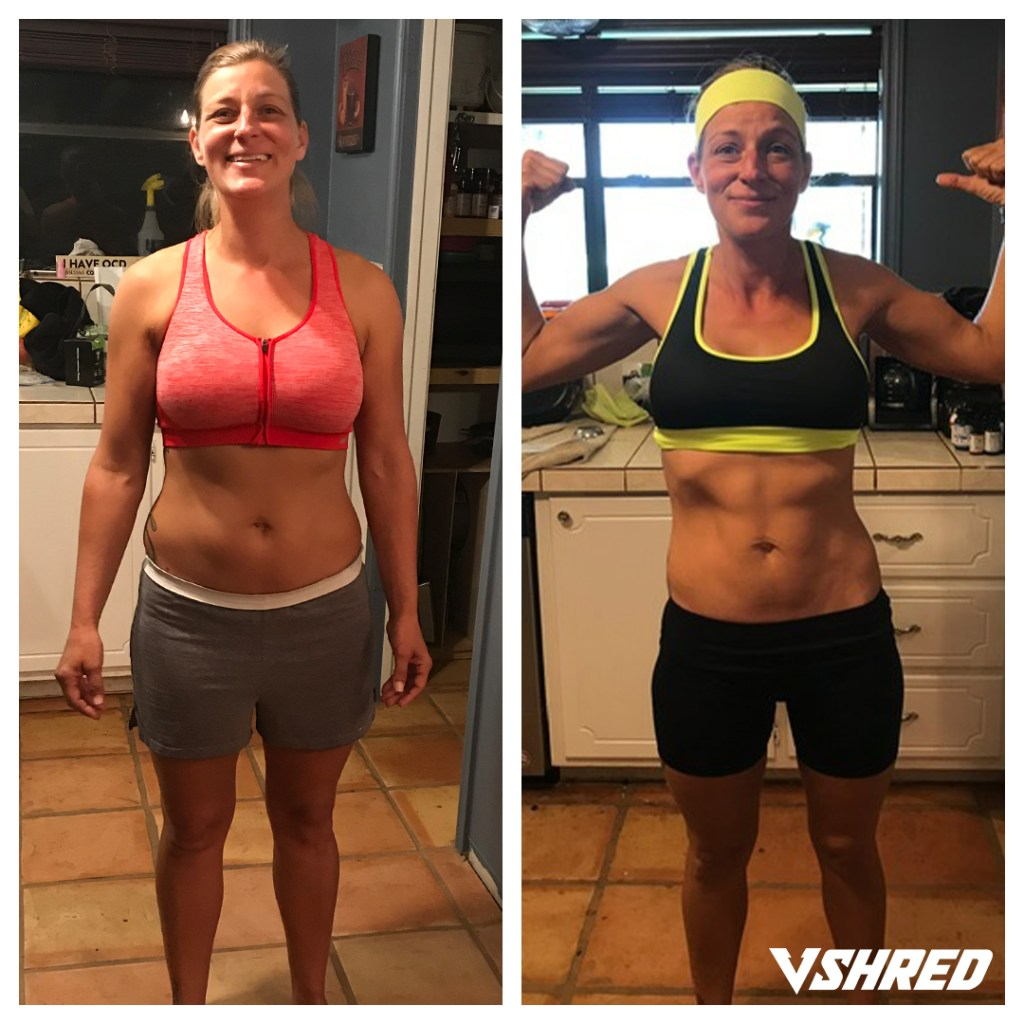 Fat Loss Extreme for Women before and after photo