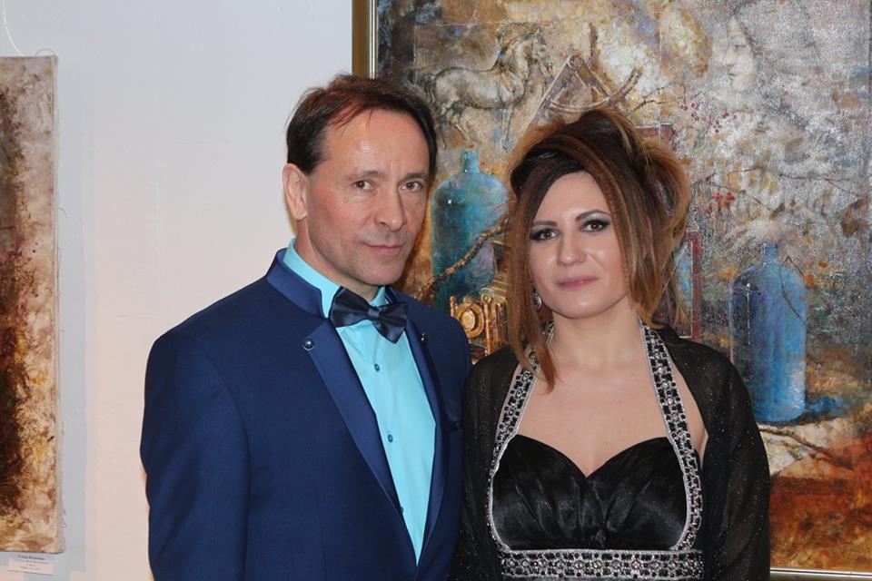 Володимир Даниленко й Леся Мудрак