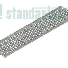 Решітка водоприймальна Basic РВ-20.24.100 штампована стальна оцинкована 2510