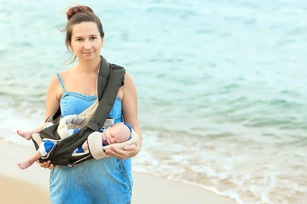 Кенгуру для новорожденных : со скольки месяцев можно ...