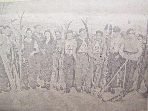 skijanje u BiH Banjaluka 1934.