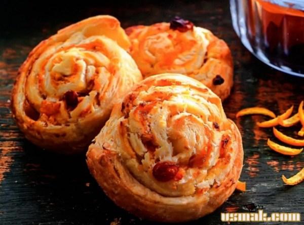 Как приготовить булочки с сухофруктами рецепт