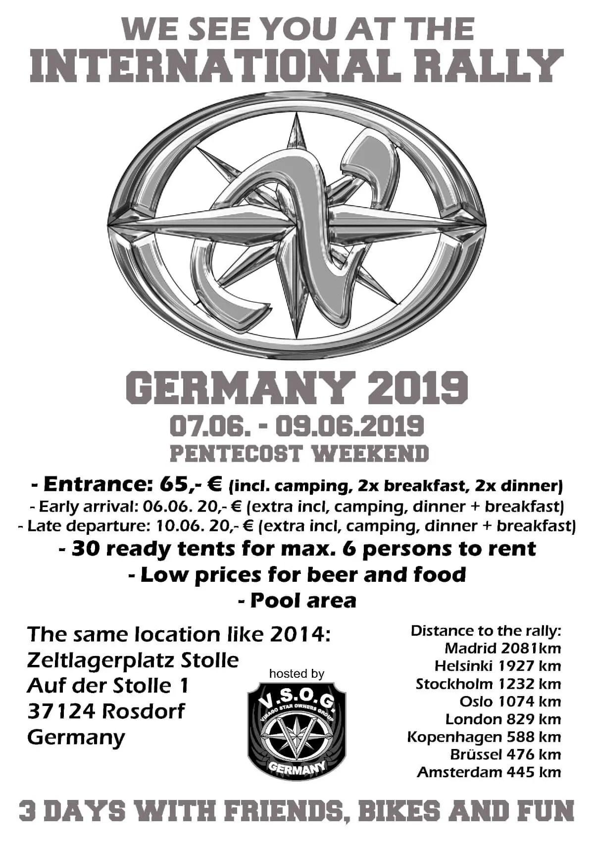 International Rally 2019 Germany