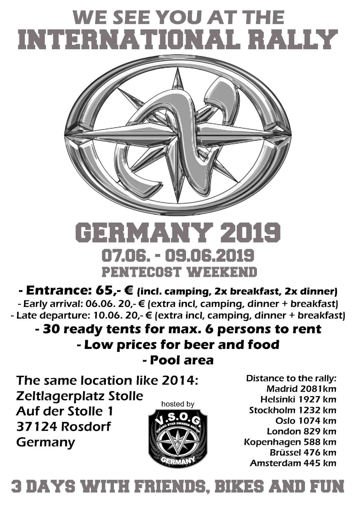 International Rally 2019 Germany