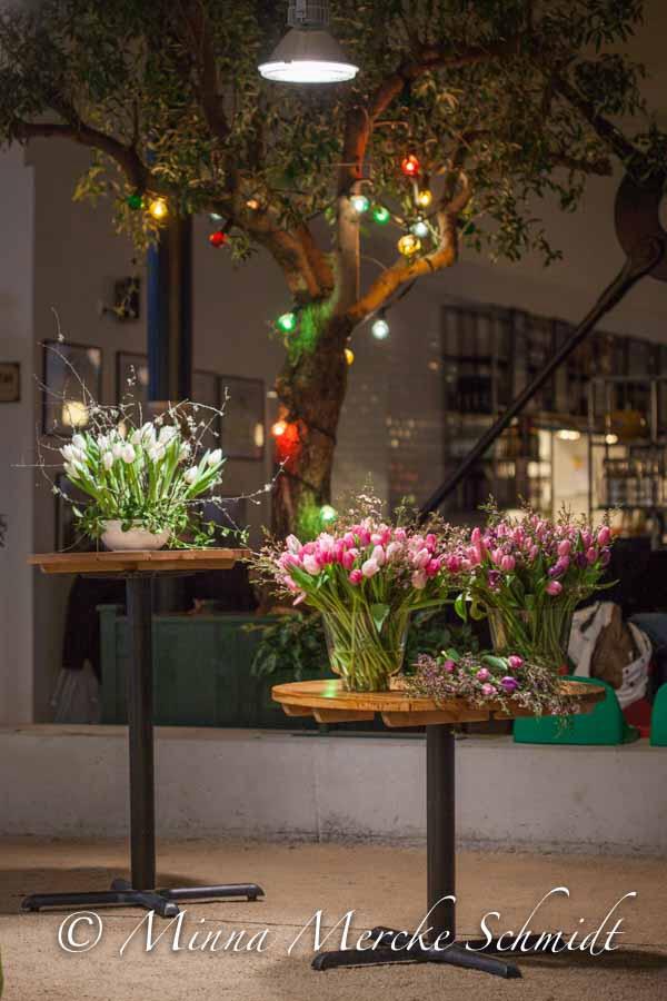 Gunnar Kaj's arrangement for Blomsterfrämjandet, Sköna Hem blog January 2014.