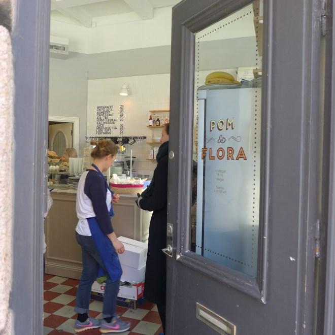 Cafe Pom och Flora Bondegatan 64
