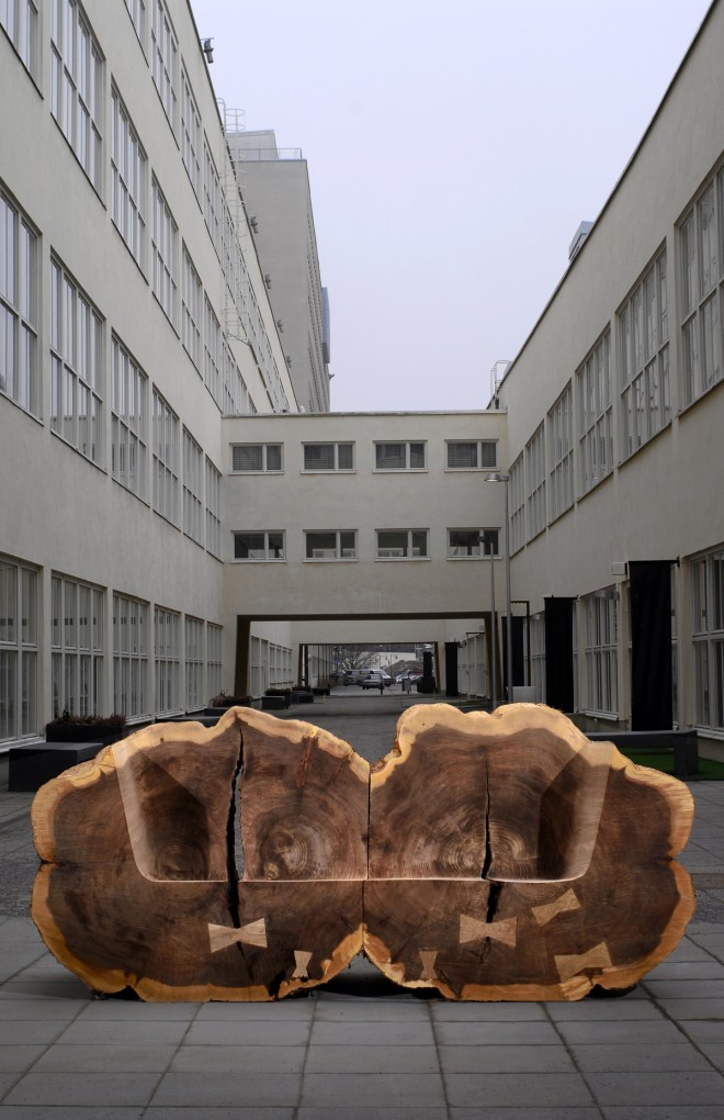 Homage to Elm Trees, 2010. Photo by Axel Karfors.