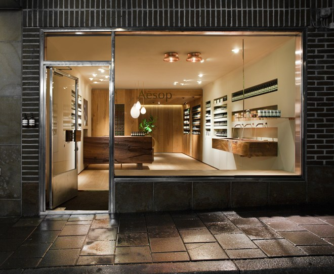 Aesop Store Stockholm 2014. Photo by Ludger Paffrath.