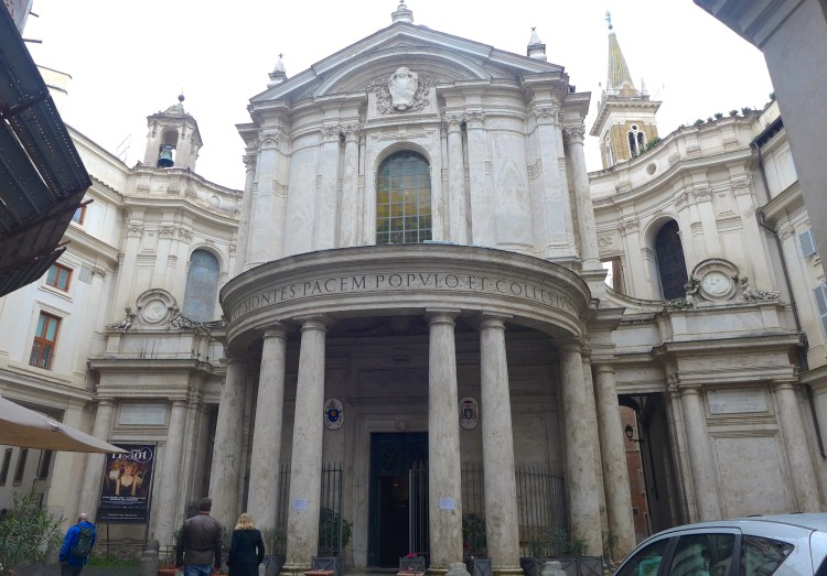 15th Century Santa Maria della Pace , close to the Piazza Navona.