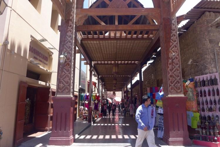 Old Souk or textile souk in Bur Dubai.