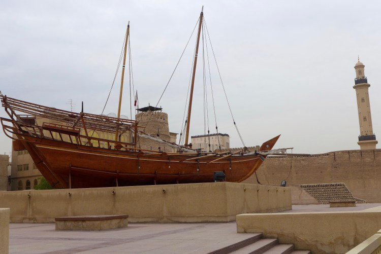 The Al-Fahidi Fort that is now the Dubai Museum.