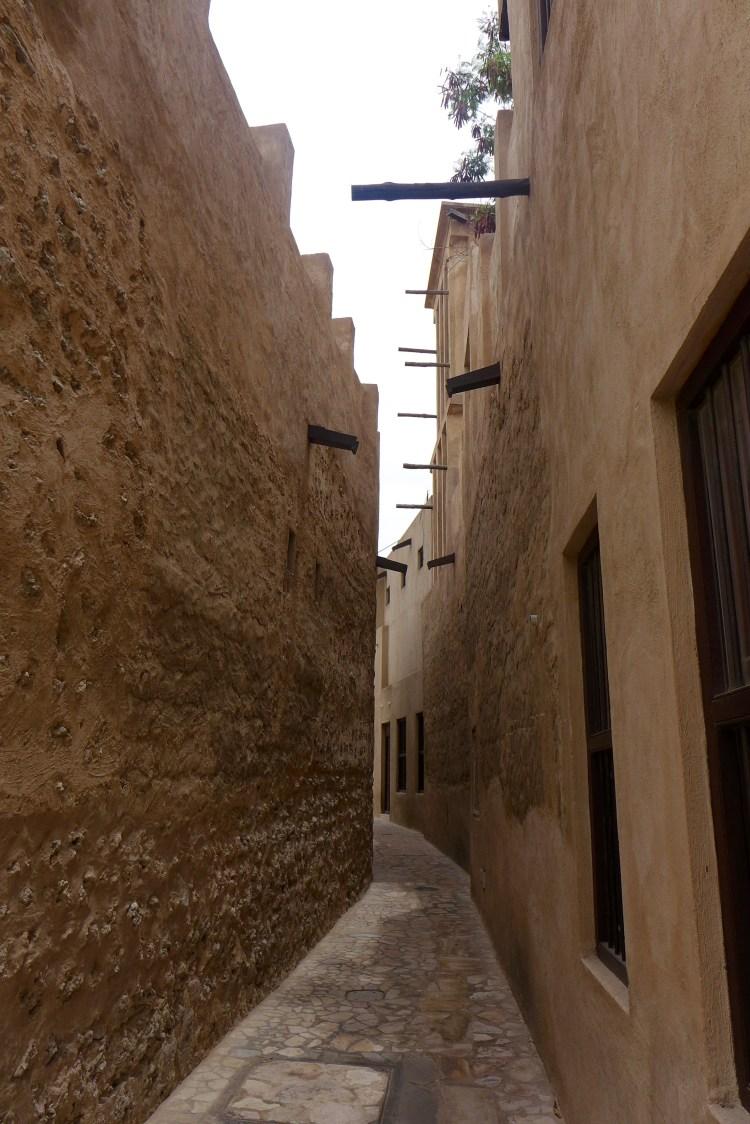Al Fahidi historical neighbourhood, Al Bastakiya.