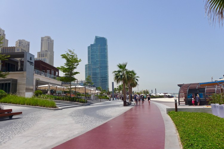 The Walk at Jumeirah Beach Residence, JBR.