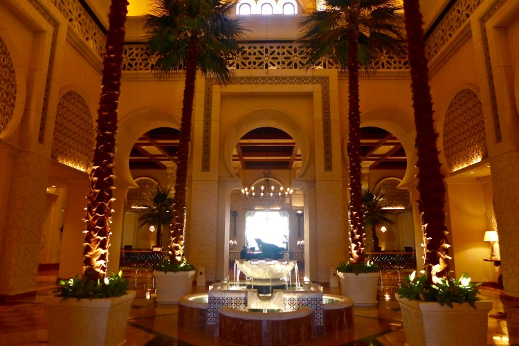 Walking into The Royal Mirage is like walking into a fable from a Thousand and One Nights.