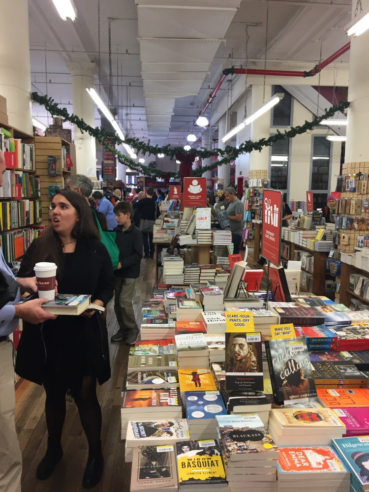 Book lover's dream, The Strand Bookshop.