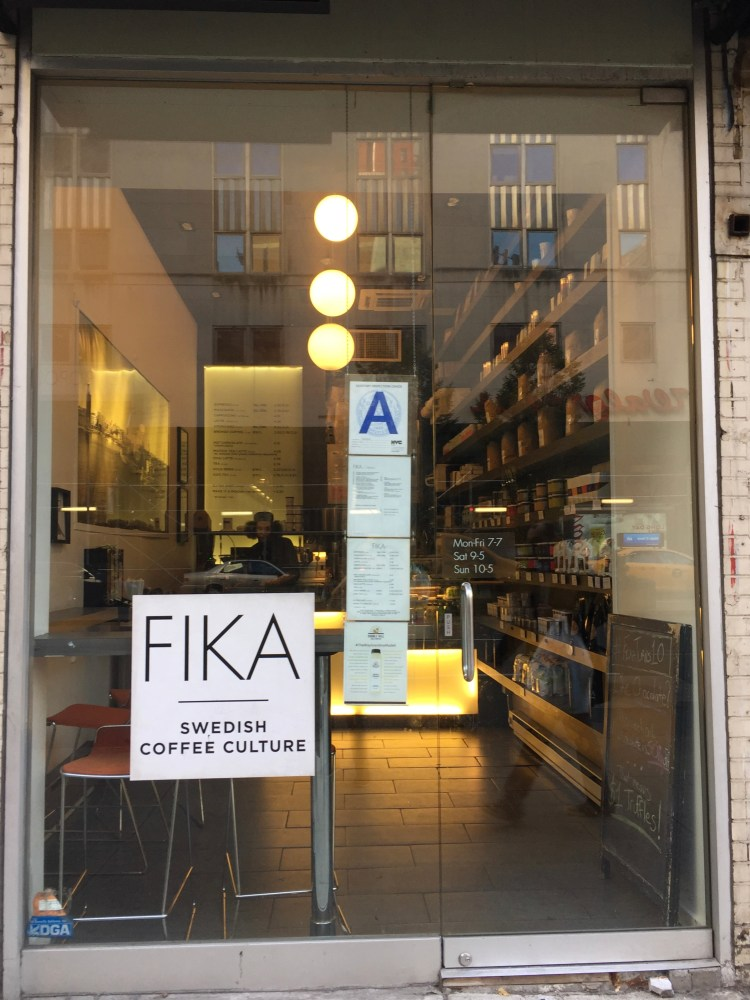 You can fika like a Swede in New York.
