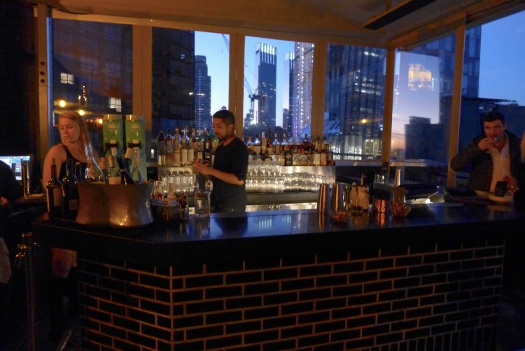 The VIceroy rooftop bar.