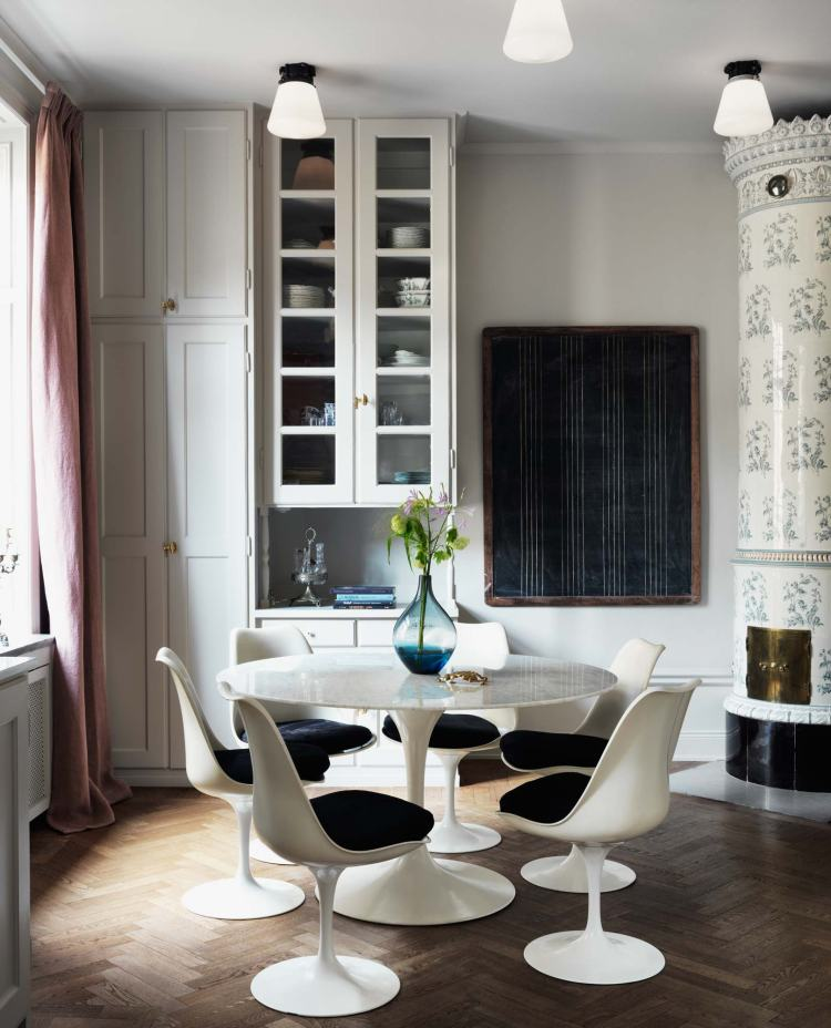 Charlotta and David Zetterström, classic Swedish Apartment.