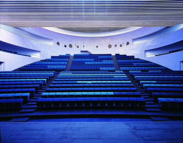 Poltrona Frau FLOW, Auditorium chairs 2006. Monica Förster, V Söderqvist Blog interview.