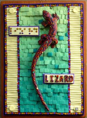 Lizard Plaque