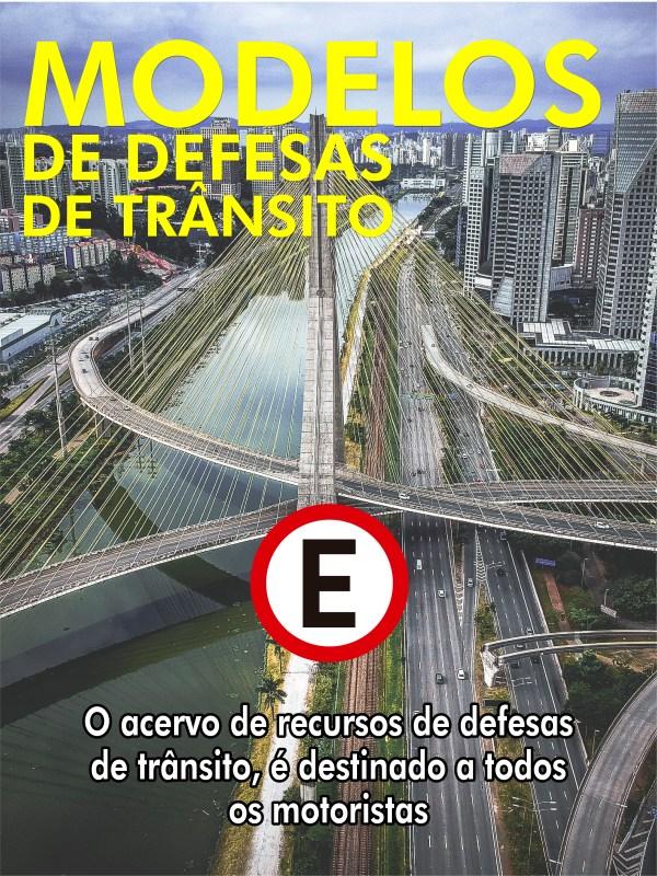 MODELOS de defesas de MULTAS DE TRÂNSITO