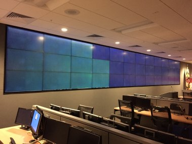 Installation of a Video Wall. Annapolis, MD.