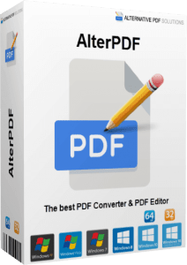AlterPDF Pro 5.0 Crack With License Key[Latest 2021] Free Download